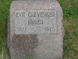Eva Jane <i>Clevenger</i> Allen