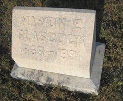 Marian E Mamie <i>Hallonquist</i> Glasscock