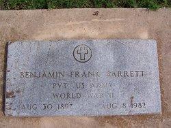 Benjamin Frank Barrett