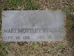 Mary Elizabeth <i>Mottley</i> Beadles