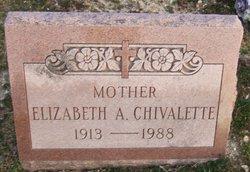 Elizabeth A Betty Chivalette
