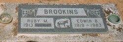 Edwin Burton Bud Brookins