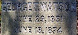 George Thomas Watson