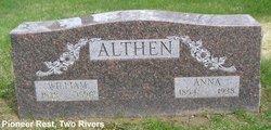 Anna <i>Weiss</i> Althen