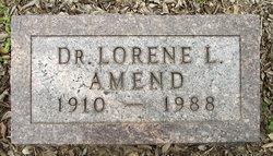 Dr Lorene Lundy Amend