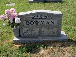 Sheila <i>Johnston</i> Bowman