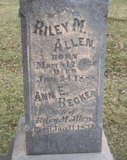 Ann E <i>Becker</i> Allen