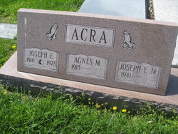 Joseph E Acra
