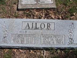 Elizabeth Frances <i>Helm</i> Ailor