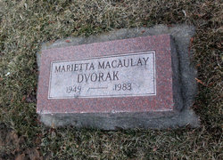 Marietta <i>Macaulay</i> Dvorak