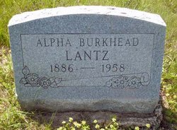 Alpha <i>Burkhead</i> Lantz
