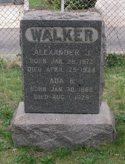 Alexander Johnson Walker