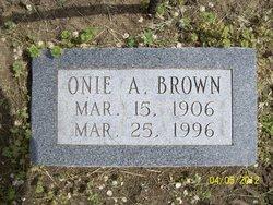 Ona Augusta Onie <i>Lindsey</i> Brown