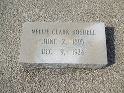 Nellie Elizabeth <i>Clark</i> Bosdell