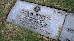 Duke R Boyett