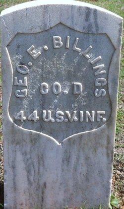 George E Billings