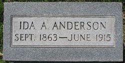 Ida A <i>Robinson</i> Anderson