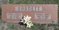 Sarah Estelle Barnett
