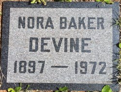 Lanora Jane Nora <i>Vincent</i> Devine