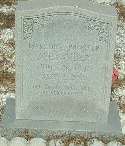 Marjorie <i>Prosser</i> Alexander
