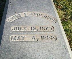 Annie E Anderson