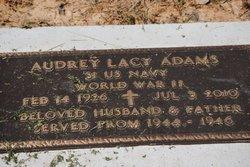 (Audrey) Lacy Adams