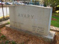 Mary <i>Pierce</i> Avary