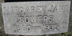 Margaret Jane Maggie <i>Smeltzer</i> Bowers