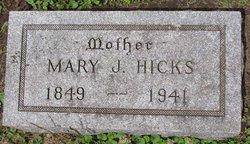 Mary J Hicks