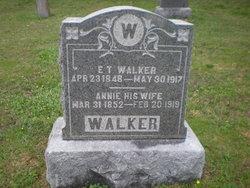E T Walker