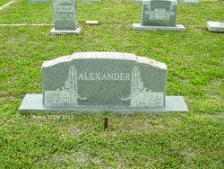 Ella E. <i>Simpson</i> Alexander