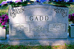 Charity Elizabeth <i>Gadd</i> Gadd