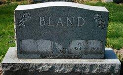 Violet Loraine <i>Whitehead</i> Bland