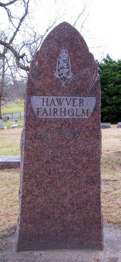 Irene Hazel <i>Hawver</i> Fairholm