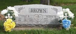Zona Mae <i>Mosshart</i> Brown