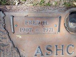 Fredrick Henry Fred Ashcraft