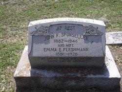 Emma E. <i>Fleshmann</i> Sponseller