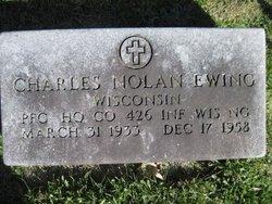 PFC Charles Nolan Ewing
