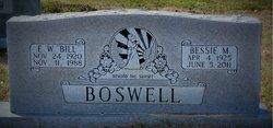 Bessie <i>Milliorn</i> Boswell
