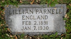 Lillian <i>Parnell</i> England