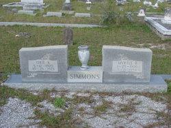 Myrtle <i>Beasley</i> Simmons