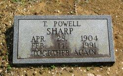 Dr T. Powell Sharp
