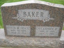 Celia M <i>Irick</i> Baker