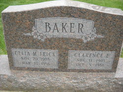 Clarence E Baker