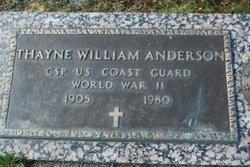Thayne William Anderson