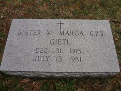 Sr M. Marga Gietl, CPS