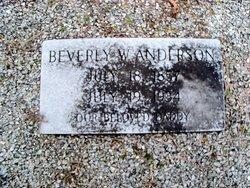 Beverly Walker Anderson