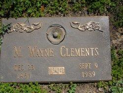 M. Wayne Clements