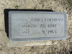 Lillian <i>Jones</i> Cochrane
