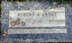 Robert W Abdill